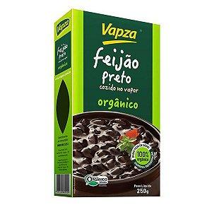 Feijão Preto Orgânico Cozido Vapza 250g