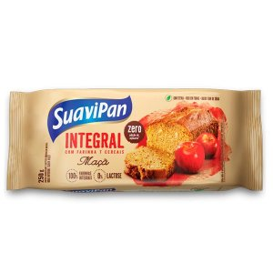 Bolo Integral de Maçã Zero Açúcar Suavipan