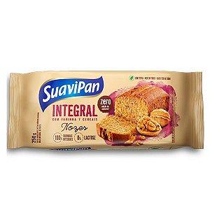 Bolo Integral de Nozes Zero Açúcar Suavipan