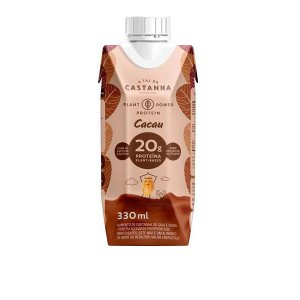 Shake Proteico Castanha e Cacau 330ml