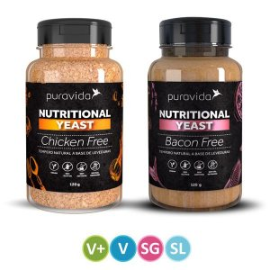Levedura Nutricional Bacon + Chicken Pura Vida - SUPER PROMO!