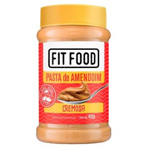 Pasta de Amendoim Integral Fit Food