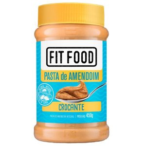 Pasta de Amendoim Crocante Fit Food