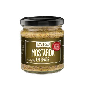 Mostarda em Grãos Taste & Co