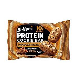 Cookie Bar Protein Amêndoas com Especiarias
