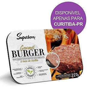 Hamburguer Gourmet Vegano Superbom