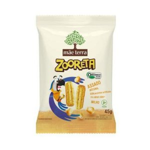 Salgadinho Assado de Milho e Arroz Zooreta