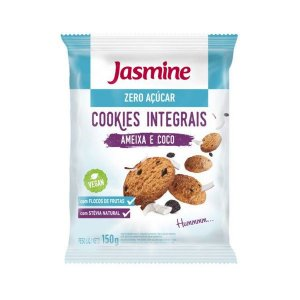 Cookies Zero Açúcar Ameixa e Coco Jasmine 150g