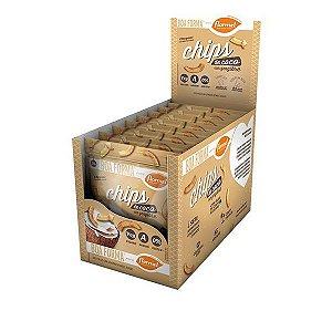 Chips de Coco com Gengibre Flormel - Caixa com 8 unidades