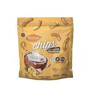 Chips de Coco com Gengibre Flormel