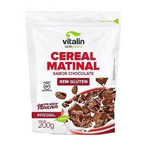 Cereal Matinal Chocolate Sem Glúten Vitalin