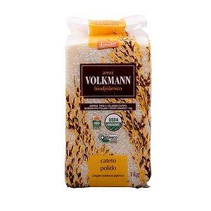Arroz Cateto Polido Orgânico Volkmann 1Kg