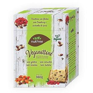 Panetone Vegano de Frutas Sem Glúten 360g