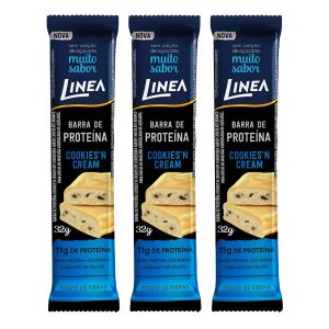Barra de Proteína Cookies Linea 3 unidades
