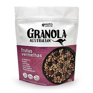 Granola Vegana Frutas Vermelhas 300g Hart's