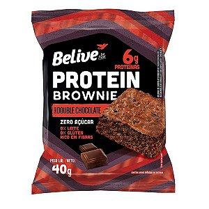 Brownie Protein Double Chocolate Zero Açúcar