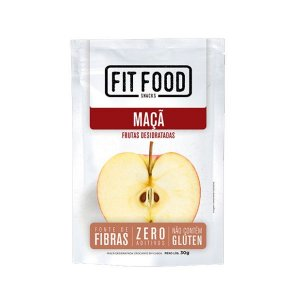 Snack Maçã Desidratada Fit Food