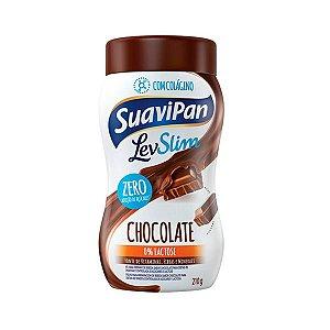 Bebida em Pó sabor Chocolate LevSlim Suavipan