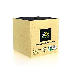 Chá Verde Orgânico Hortelã e Erva Doce biO2