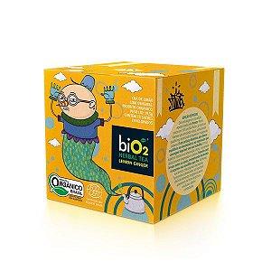 Chá Orgânico Limão com Gengibre biO2