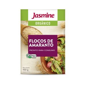 Flocos de Amaranto Orgânico Jasmine