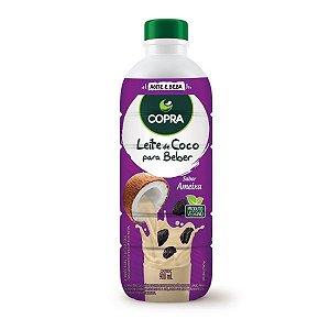 Leite de Coco Pronto para Beber sabor Ameixa