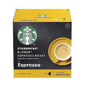 Café Espresso Blonde Starbucks Dolce Gusto