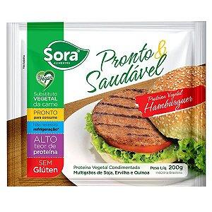 Hambúrguer Vegetal Pronto & Saudável