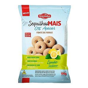 Sequilhos Zero Açúcar Limão Siciliano Nazinha