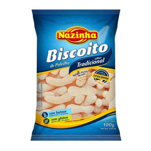 Biscoito de Polvilho Sem Glúten Nazinha