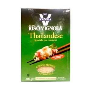 Arroz Thailandese Riso Vignola 500g