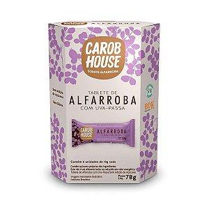 Tabletes de Alfarroba com Uva Passa