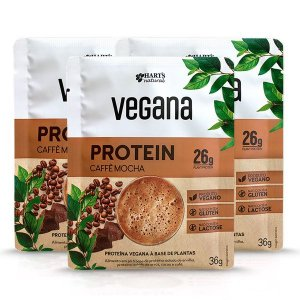 Proteína Vegana Caffè Mocha Hart's - 3 doses