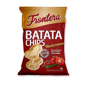 Batata Chips sabor Mediterrâneo Frontera