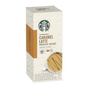 Café em sachês Caramel Latte Starbucks