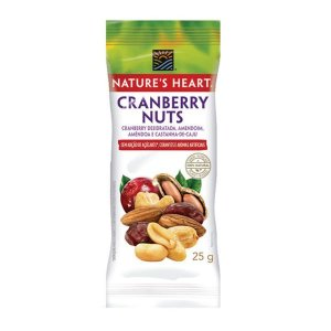 Cranberry Nuts 25g Nature's Heart