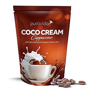 Leite de Coco em Pó sabor Cappuccino Pura Vida