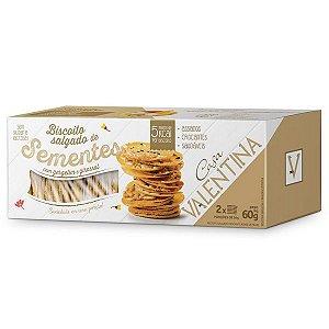 Biscoito Salgado de Sementes Casa Valentina