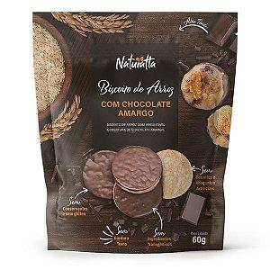 Biscoito de Arroz com Chocolate Amargo Naturatta