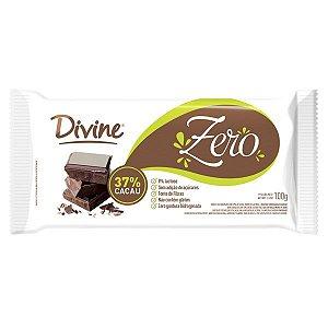 Barra de Chocolate Zero 37% Cacau Divine