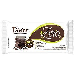 Barra de Chocolate Zero 50% Cacau Divine