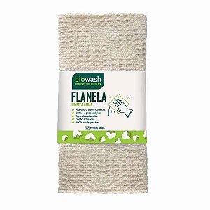 Flanela 100% Algodão Biowash
