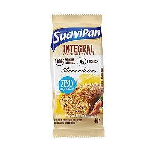 Bolinho Integral Amendoim Zero Açúcar Suavipan