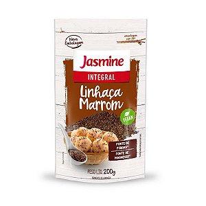 Linhaça Marrom Integral Semente Jasmine 200g