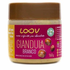 Creme Loov Gianduia Branco Chocolife