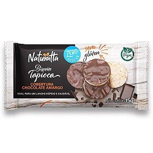 Biscoito de Tapioca Chocolate Amargo Zero Açúcar