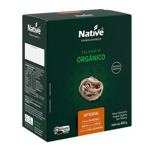Massa Talharim Integral Orgânico Native 400g
