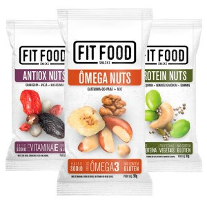 Kit Snack Nuts Funcionais Fit Food