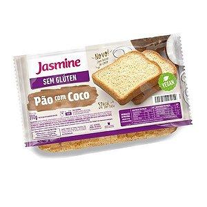Pão com Coco Sem Glúten Jasmine