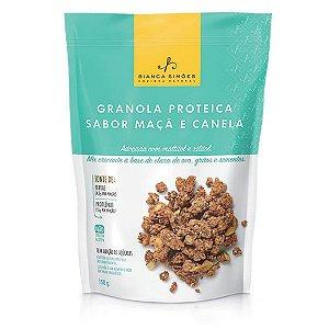 Granola Proteica Maçã e Canela Bianca Simões